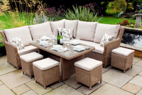 SAIGON MODULAR DINING SET WAS £2,499 / NOW £1,799