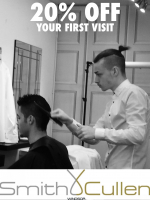 Gents get 20% off Your First Visit - gift vouchers available!