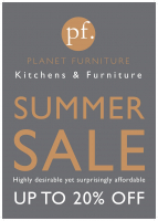 Final week of Planet Furniture Summer Sale - 20% OFF!!