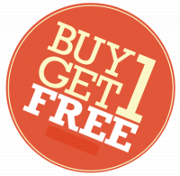 BUY 1 GET 1 FREE! Treat yourself to one of our amazing treatment and get a second one FREE!