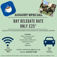 August Special - Day Delegate rate just £25