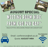 Meeting Room Hire from just £50 per day