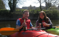 15% Discount on Romantic Windsor Kayak tour for two WITH bubbly