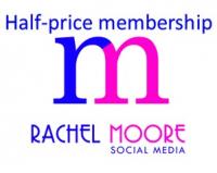 Half price membership of Rachel Moore Social Media