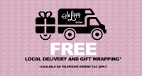 Free Local Delivery and Gift Wrapping