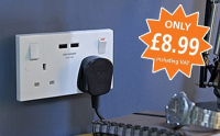Double Socket with USB Points just £8.99 (inc VAT)