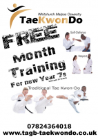 Free Month's Tae Kwon Do Training - NEW YEAR 7's