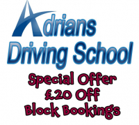 DRIVING LESSONS - £20 OFF BLOCK BOOKINGS