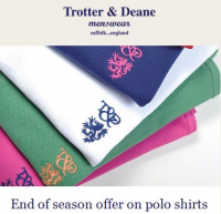Our Polo Shirts at £45