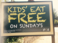 FREE Kids Meal On Sundays