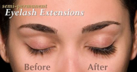 OVER 30% OFF EXTREME LASHES SEMI PERMANENT EYELASH EXTENSIONS.