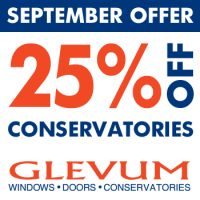 25% OFF Conservatories