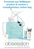 Complimentary cotton bag!