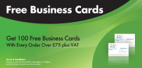 Get 100 Free Business Cards