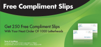 Free Compliment Slips
