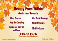 30 MINUTE BEAUTY TREATMENTS FOR JUST £15