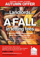 Landlords! A Fall in Letting Fees