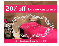 20% off for new customers