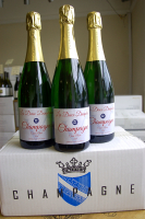 Fantastic Champagne deals (with your own label printed)