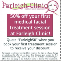 50% off your first treatment!