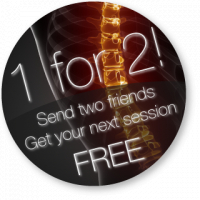 1 FREE treatment for every 2 friends you recommend that join