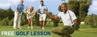 Free golf lesson at Farleigh Golf Club