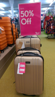 UP TO HALF PRICE ON ANTLER LUGGAGE