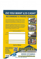 Do you want £25 cash?