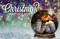CHRISTMAS BREAKAWAY - 2 NIGHTS FROM £135.  BOOK IN OCTOBER AND GET AND EXTRA £10 OFF!