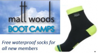 FREE Waterproof socks - when you join Matt Woods Boot Camps