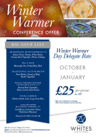 Winter Warmer Day Delegate Offer