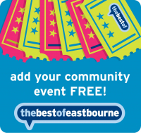 Add Your Eastbourne Event for FREE!
