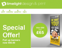 Special offer on Pull up Banners