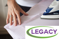 Hate Ironing....we love it! Get 1 hour FREE ironing with Legacy Cleaning