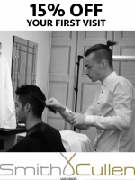 Gents get 15% off Your First Visit - gift vouchers available!
