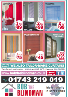 2 BLINDS FOR £99 THIS AUTUMN