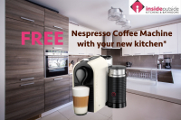 FREE Nespresso Coffee Machine with your new kitchen