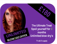 Unlimited Blow Dry's £180