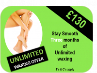 Totally Unlimited Waxing Offer £130