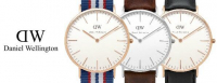 Free Nato Watchstrap with all Daniel Wellington Watches