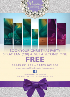 Half price Christmas party tanning