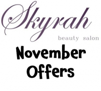 Great November Beauty Offers at Skyrah Beauty Epsom