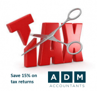 Save 15% on tax returns