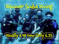 Save over 20% on Scuba Diving Lessons only £35