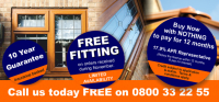 FREE Fitting on Conservatories
