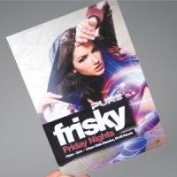 PROMO GLOSS FLYERS - 5,000 FOR JUST £144