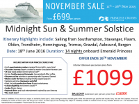 Midnight Sun & Summer Solstice from £1099 per person!