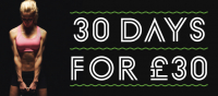 30 DAYS FOR £30 AT VILLAGE BURY