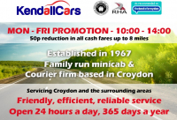 Monday to Friday promo with Kendall Cars