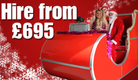 Santa Sleigh Photobooth only £499